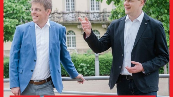 Foto: Bendix Bock und Ralph Tegtmeier